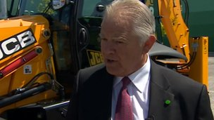 Alan Blake, chief executive of JCB