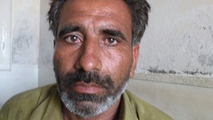 Aijaz Hussain, the brother of the woman the Ali brothers dug up from grave in 2011