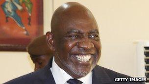 Former prime minister Cheick Modibo Diarra