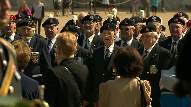 Westminster Korean war parade