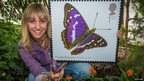 Purple Emperor stamp
