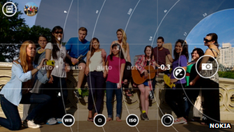Nokia Pro Camera user interface