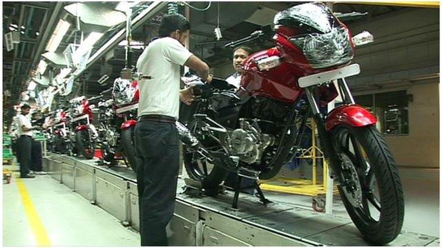Bajaj Auto plant