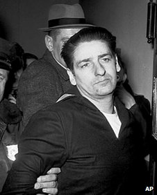 Albert DeSalvo after his arrest in 1967