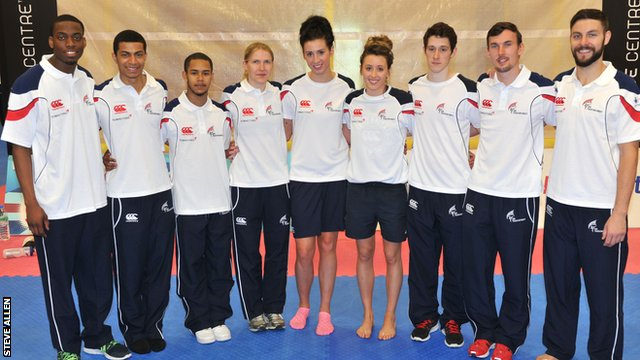 Great Britain taekwondo squad