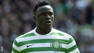 Victor Wanyama in action for Celtic