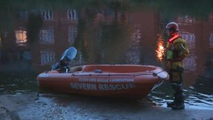 River Severn search