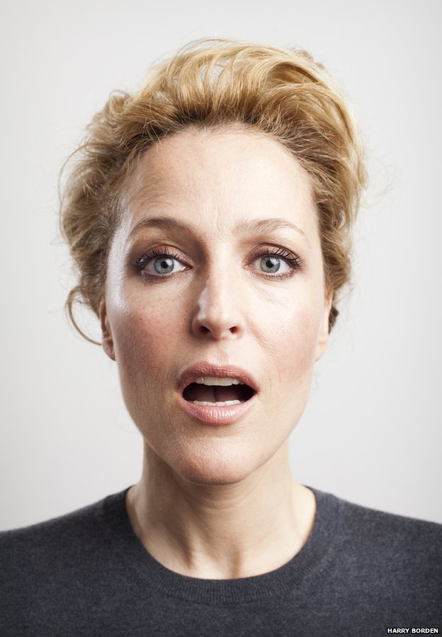 Gillian Anderson by Harry Borden
