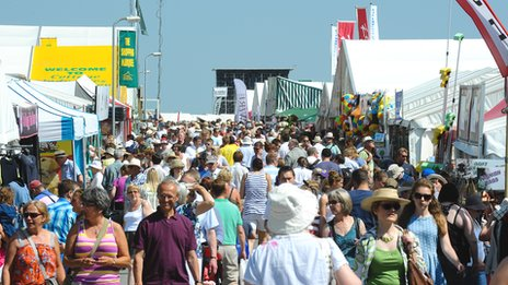 Yorkshire Show crowds