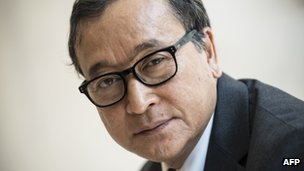 File photo: Sam Rainsy