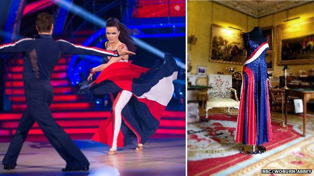 Victoria Pendleton on Strictly Come Dancing