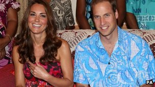 The Duke and Duchess of Cambridge in South East Asia