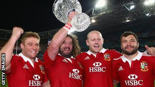 Tom Youngs, Adam Jones, Dan Cole and Alex Corbisiero