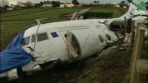 Channel Express plane crash in 1999