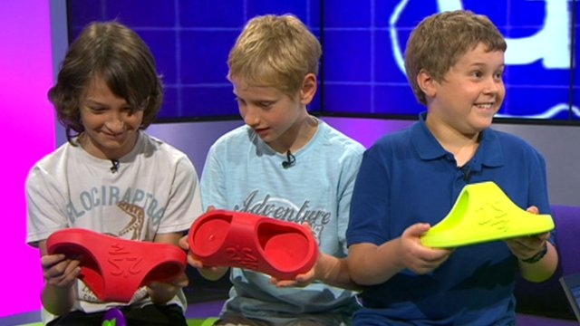 Oscar, Matthew and Ben receive their Twoes
