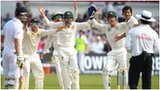 Australia's players are incensed after Stuart Broad is given not out by umpire Aleem Dar