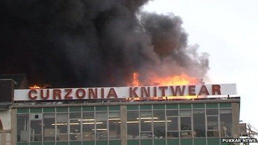 Shisha bar fire