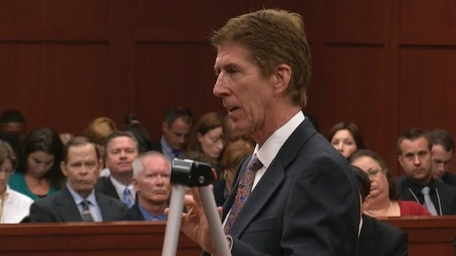 Mark O'Mara in closing arguments