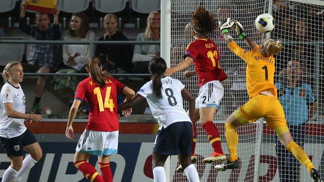 England 2-3 Spain