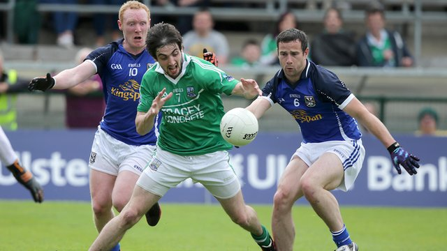 Action from Fermanagh v Cavan