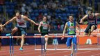 In Saturday's 400m hurdles final, Dai Greene sees off Rhys Williams