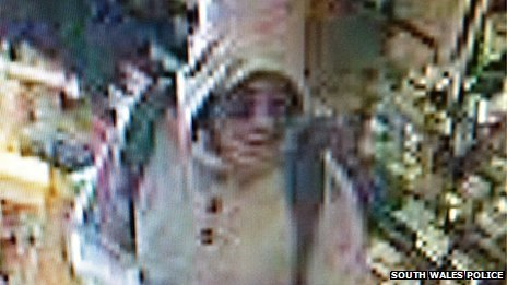 CCTV image of wanted man
