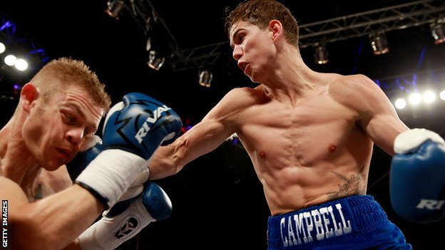 Luke Campbell beating Andy Harris