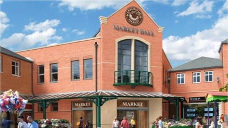 Market Hall in Market Harborough