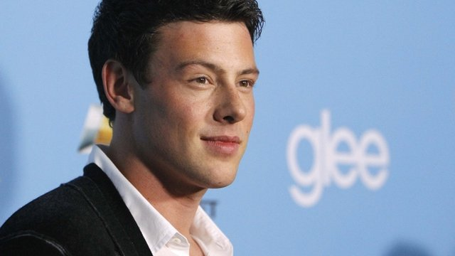 Cory Monteith at the premiere of the second season of the TV series 'Glee'