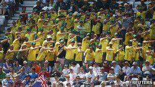 Australia supporters