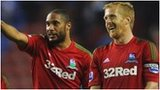 Ashley Williams and Garry Monk