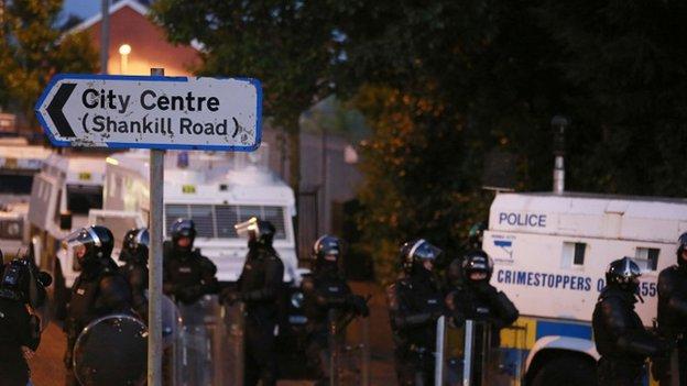 Belfast rioting