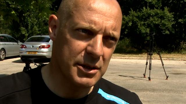 Sky Pro Cycling Team Principal Sir David Brailsford
