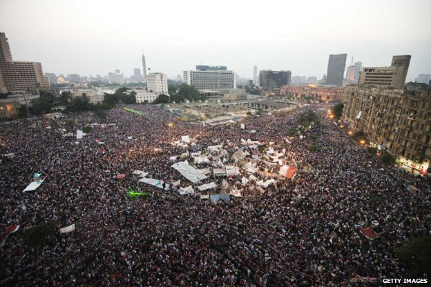 Tahrir Square, 3 july 2013