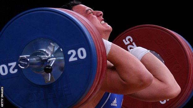 Sonny Webster won the men's 94kg class at the British Championships
