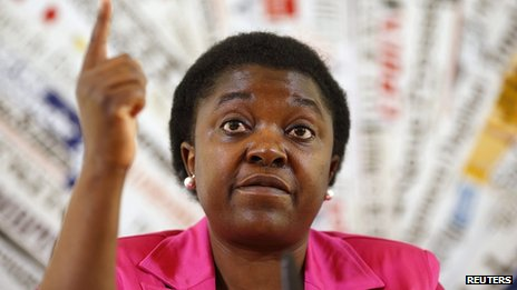 Italian Minister for Integration Cecile Kyenge