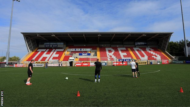 Cliftonville's Solitude ground in north Belfast