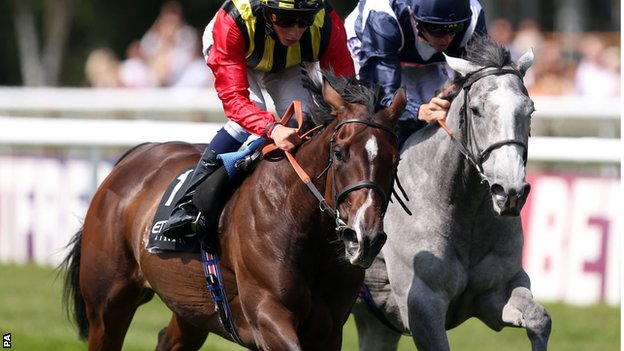 Elusive Kate pips Sky Lantern in the Falmouth Stakes