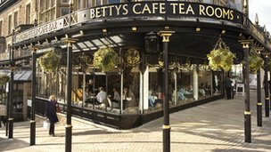 Betty's Tea Rooms in Harrogate