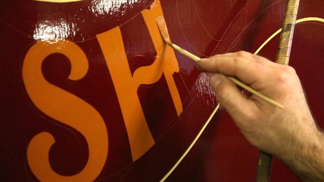 Fairground signwriting