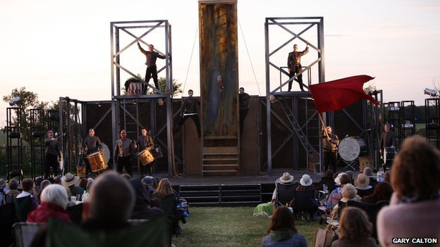 One of Shakespeare's Henry Vl plays staged in Towton, Yorkshire