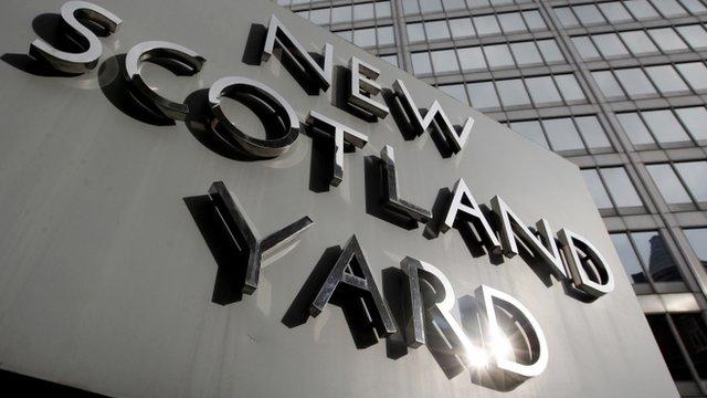 New Scotland Yard, the headquarters of the Metropolitan Police,
