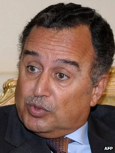 "Egypt""s newly appointed foreign minister Nabil Fahmy"