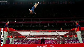 Trampoline at London 2012