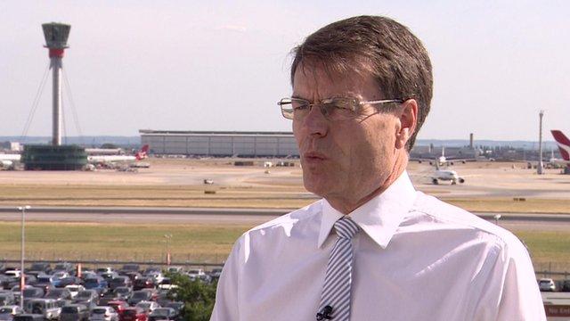 Heathrow Chief Executive Colin Matthews