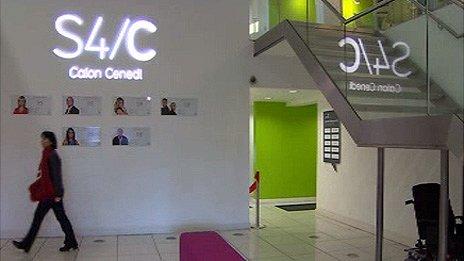 S4C headquarters in Cardiff