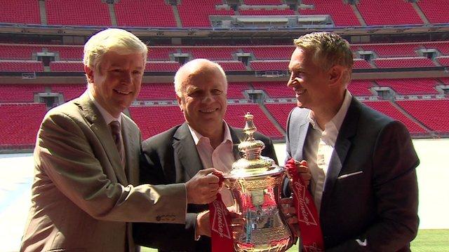 FA Cup at Wembley Stadium