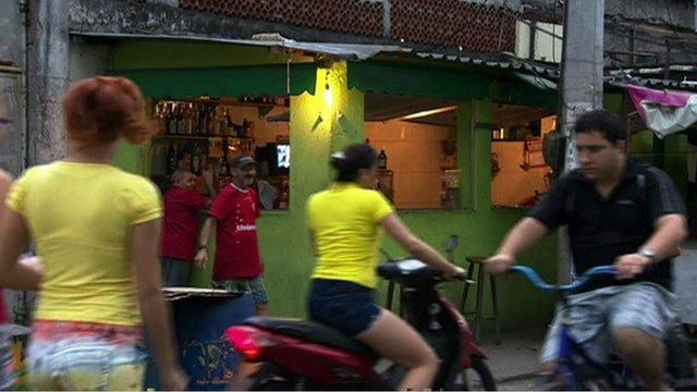 Street scene in Brazil