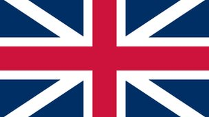 The first Union flag, 1606