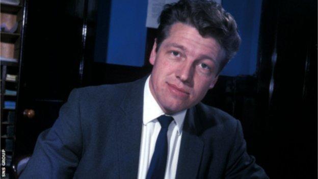 Former Rangers boss Davie White